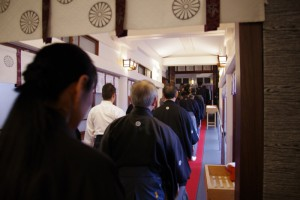日枝神社正式参拝