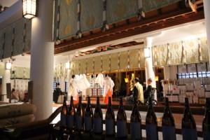 日枝神社正式参拝 剣の舞
