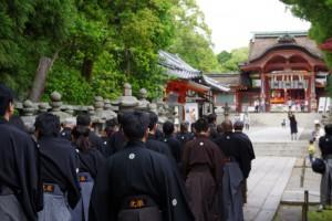 石清水八幡宮正式参拝