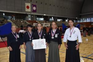 第12回東京大会 団体戦準優勝 出光C支部